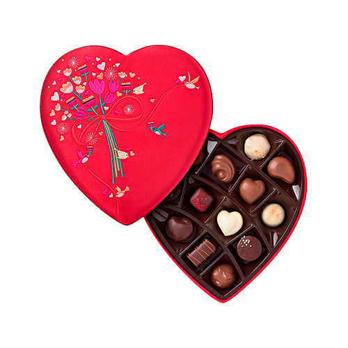 Godiva Valentine's Luxury Heart Box