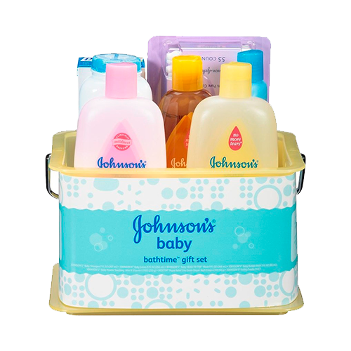 Johnson & Johnson Bathtime Essentials Gift Set