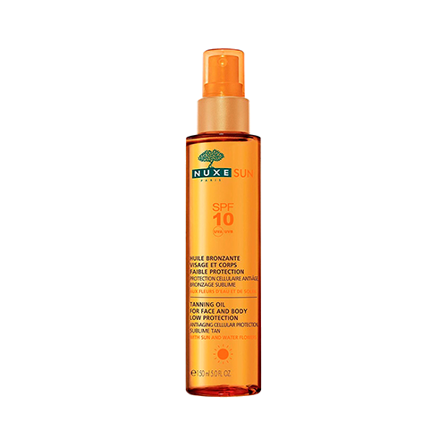 Nuxe Sun Tanning Oil For Face And Body SPF10