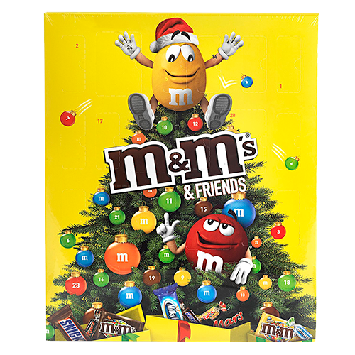 M&M Friends Schokoladen-Adventskalender