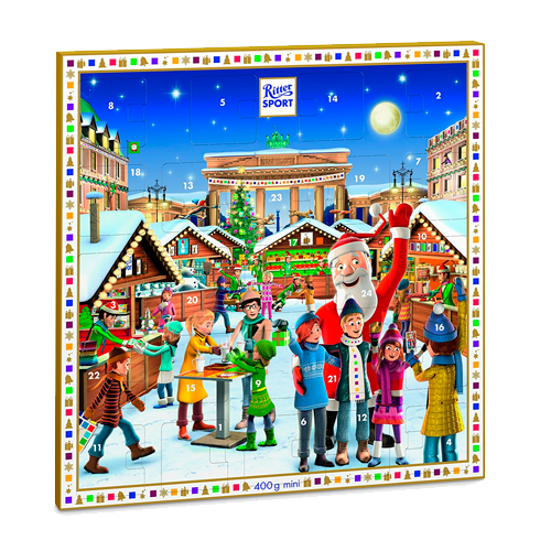 RITTER SPORT mini Adventskalender Winter 2017