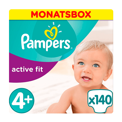Pampers Premium Protection Active Fit