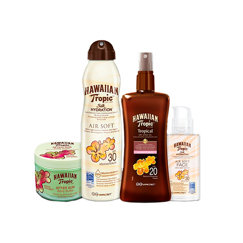 Hawaiian Tropic Pack Piel Intermedia