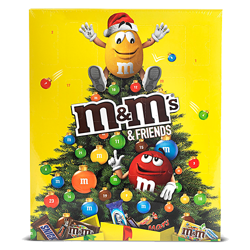 M&M's & Friends - Calendario de Adviento