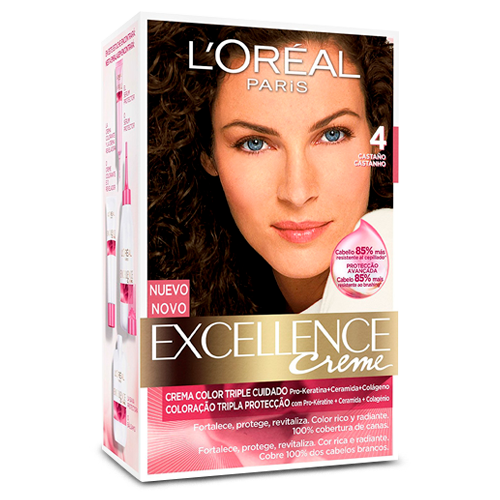 L'Oréal Paris Excellence Creme Triple Protección Coloración