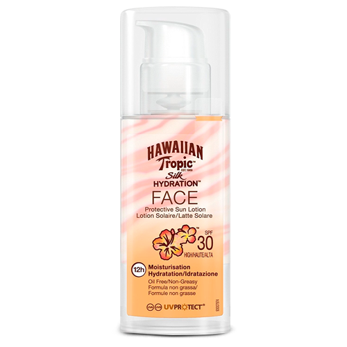 Hawaiian Tropic Silk Hydration Face Sun Loción