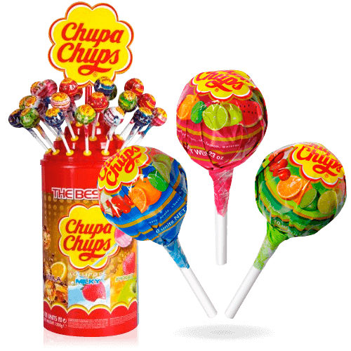 Chupa Chups - Lollipops The Best Of - Caramelos de sabores surtidos
