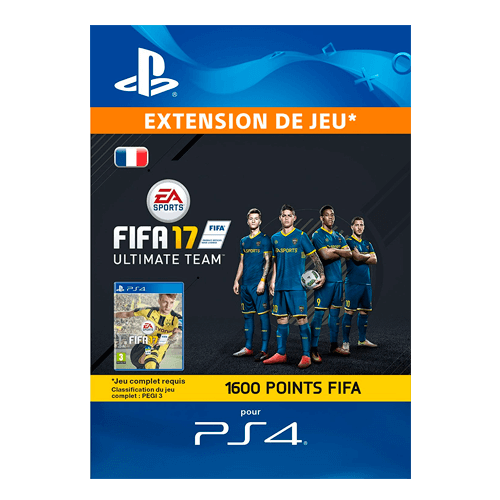 FIFA 17 Ultimate Team - 1.600 Points FIFA