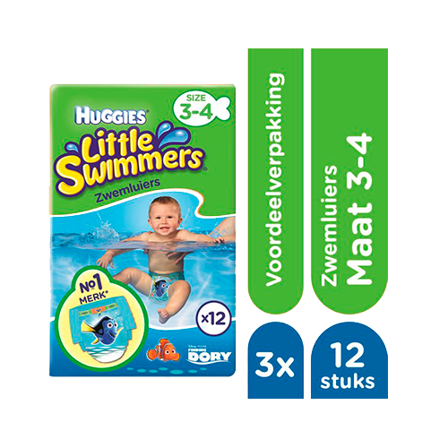 Huggies Little Swimmers mt 3-4
