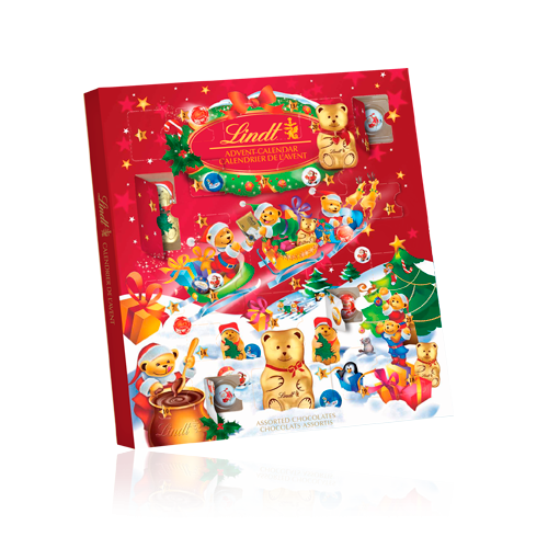 Lindt Teddy Advent Calender