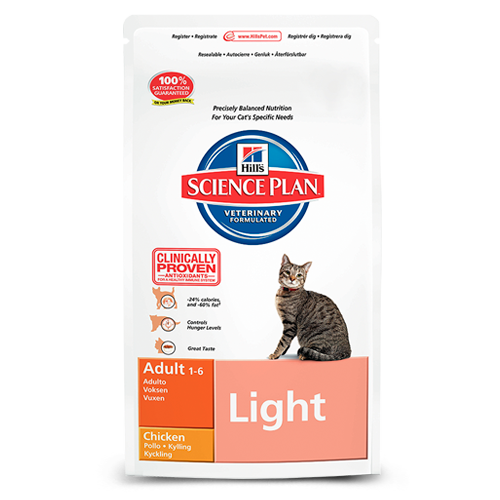 Hill's Science Plan Feline Adult Light with Chicken