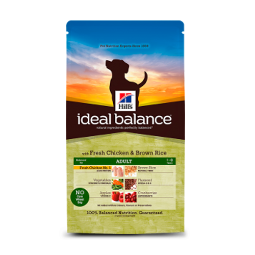 Hill's Ideal Balance Canine Adult Medium Breed Fresh Chicken & Brown Rice