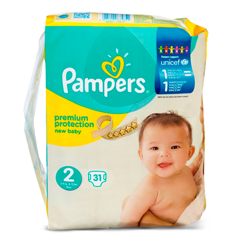 Pampers New baby - Pampers