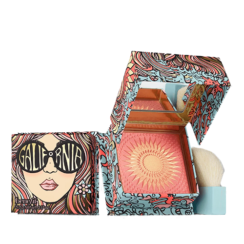 GALifornia - blush rosa com toque dourado - BeneFit