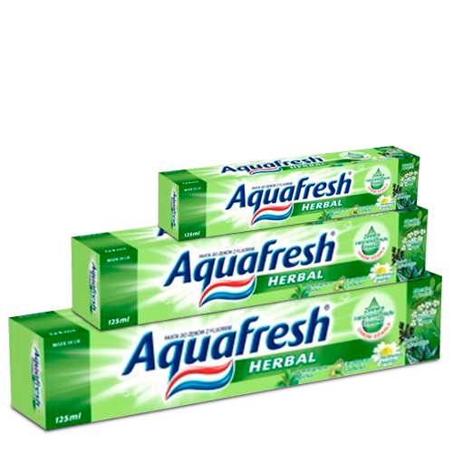 AQUAFRESH HERBAL PLANTAS