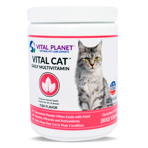 Vital Planet, Vital Cat Daily Multivitamin, Fish Flavor