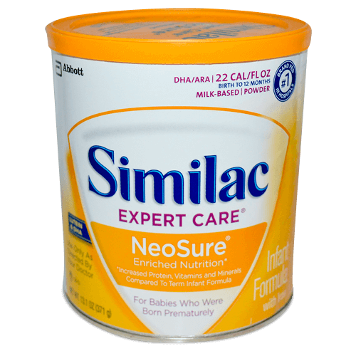 Similac, Expert Care, NeoSure, Infant Formula with Iron