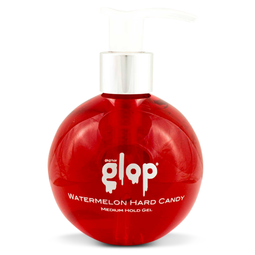 Glop and Glam, Medium Hold Gel, Watermelon Hard Candy