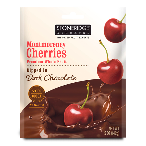 Stoneridge Orchards, Montmorency Cherries, Dipped in Dark Chocolate
