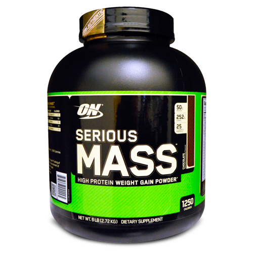 Optimum Nutrition, Serious Mass, High Protein Gain Powder
