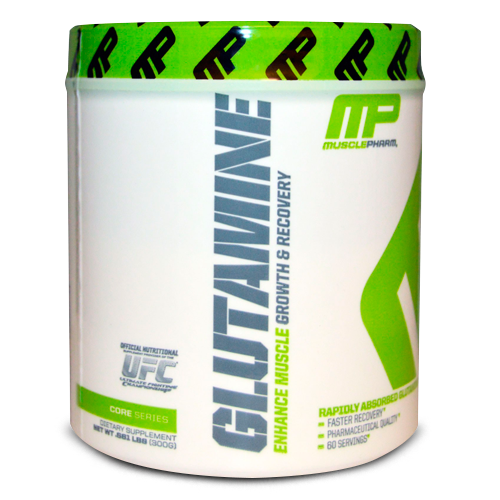 Muscle Pharm, Glutamine, Growth & Recovery, Core Series