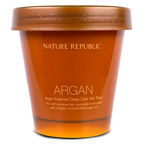 Nature Republic, Argan Essential Deep Care Hair Pack