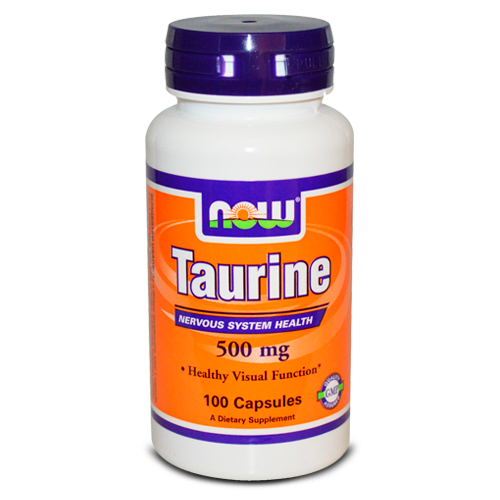 Now Foods, Taurine, 500 mg