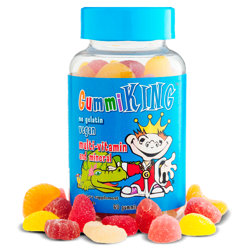 Gummi King, Multi-Vitamin & Mineral, For Kids