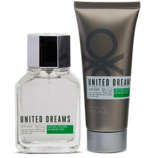 Set United Dreams Aim High 3 Pzs Eau de Toilette 100 ml + After Shave Balm 100 ml