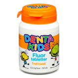 Fluortablett Mix Assorterte smaker - Denta Kids