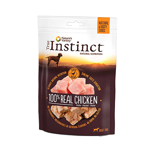 True Instinct Cubes Chicken, Nature's Variety, Snacks de Pollo