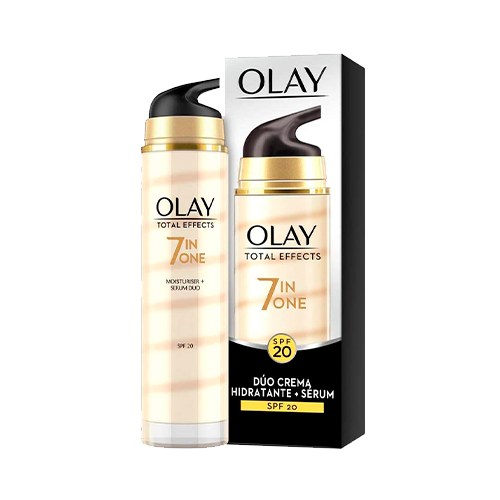 Olay Total Effects 7en1 Dúo Crema facial Hidratante + Sérum con SPF20 40 ml