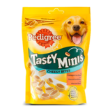 Pedigree Tasty Minis Cheesy Bites met Kaas en Rundvlees 140 g